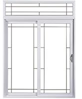 Portes patio pvc aluminart for Porte patio dimension
